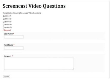 Screencasting to Engage Learning (EDUCAUSE Review) | EDUCAUSE.edu | GuidingPrinciples | Scoop.it