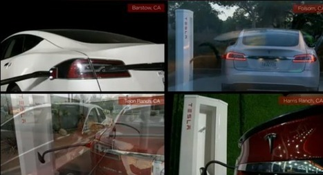 Tesla's chargers now moving a gigawatt hour of electricity a month | GigaOM Clean Tech News | Renewable Energy Resource | Scoop.it