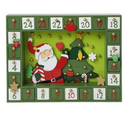 Kurt Adler Wooden Nativity Advent Calendar   Holiday Decorations   Scoop.it
