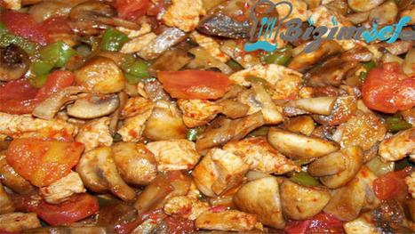 Mantarlı Tavuk Sote | Bizim Şef | Scoop.it