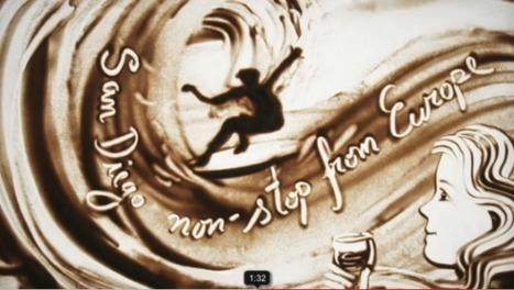 The Mind-Blowing Sand Paintings of Ilana Yahav | Strange days indeed... | Scoop.it