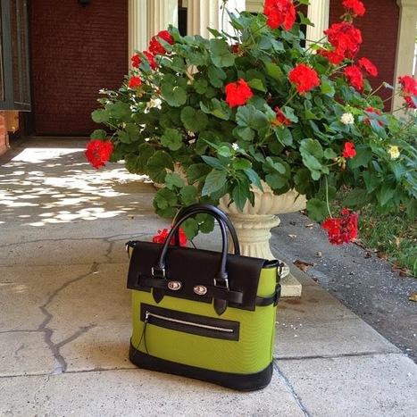 Attractive designer handbags: PLIA Designs Reid Satchel | buy designer handbags online used designer handbags for sale designer messenger bags for women | Scoop.it