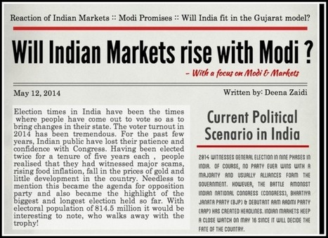 Will Indian Markets Rise with Modi? - FINANCIAL KEYHOLE | Eurozone Crisis | Scoop.it