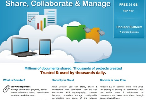 Online File Storage | Document Collaboration | Document Sharing | Online Project Management | Gestión Documental | Scoop.it