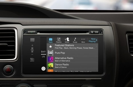 Apple's New CarPlay System Will Turn Tens Of Millions Of Cars Into iPhone Accessories | TechCrunch | HMI | Scoop.it