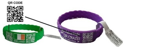 Wrist Bands that can contain QR Codes | Promotional Merchandise | Scoop.it