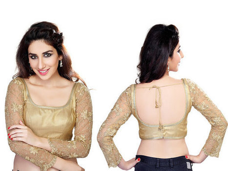 Best Blouse Designs For Wedding Season 2014 | CHICS & FASHION | Scoop.it