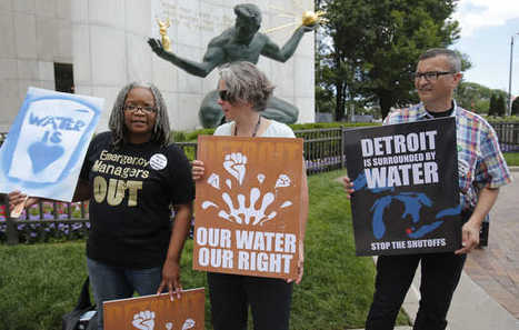 Detroit shutoffs to continue after judge says poor have no right to water | SocialAction2015 | Scoop.it