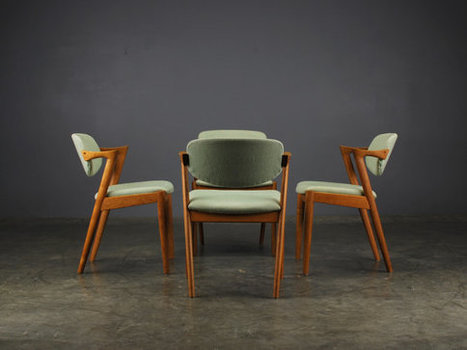 Dining Chairs // Kai Kristiansen | whats been spotted on etsy today? | Scoop.it