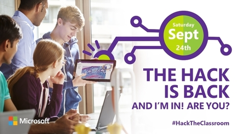 Live, Online, Free: Hack the Classroom 9/24/16 | Technology in Art And Education | Scoop.it