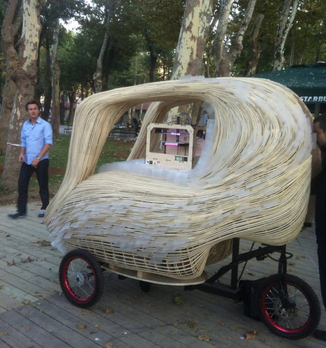 3D Food Printing: Food Carts Of The Future | Food Trucks of the World | Scoop.it