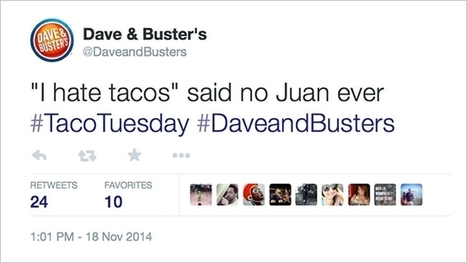Dave & Buster's Just Posted a Tweet It's Going to Regret for a Long Time | Web 2.0, Publicidad, Redes Sociales | Scoop.it