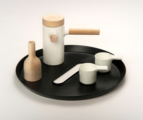 'Button' side table by Fredrik Wærnes for Strek Collective (NO) @ Dailytonic   Good Designs   Scoop.it