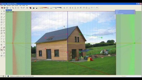 Tuto vidéo du prof TIM : Adapter une image dans Sketchup - YouTube | Ressources pour la Technologie au College | Scoop.it