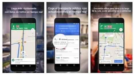 Google Maps para Android añade un acceso directo al estado del tráfico   Aprendiendoaenseñar   Scoop.it