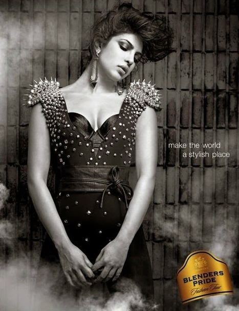 Priyanka Chopra Photoshoot - Blenders Pride Advertisment - 99share.in | Photoshoot | Scoop.it