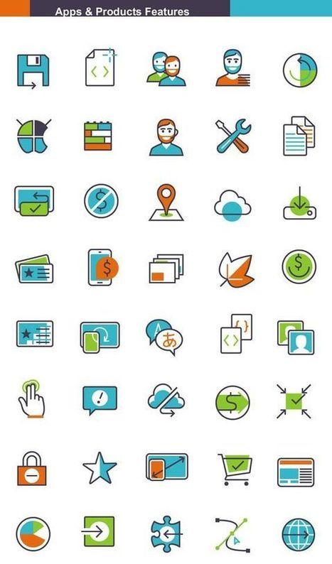 20 packs d'icônes spécialisés & gratuits pour vos projets de e-commerce   Distribution - Innovation   Scoop.it