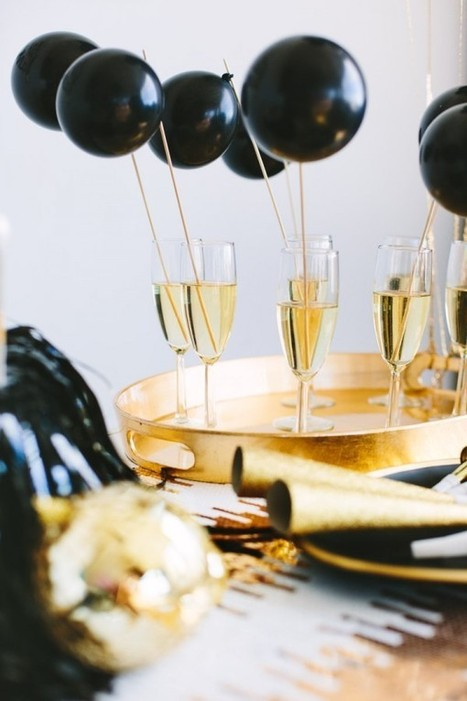 DIY New Year's Eve Ideas with Balloons   Studio DIY®   balloons delivery USA   Scoop.it