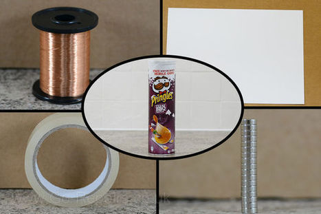 DIY Pringles Can Speaker | Arduino, Netduino, Rasperry Pi! | Scoop.it