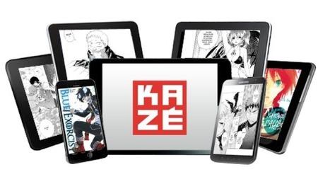 Kazé Manga déploie son offre numérique, y compris chez Nintendo - Actualitté.com | le monde de la BD | Scoop.it