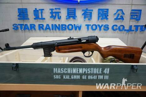 SRC – MP-41 AEG now shipping  to stores | Airsoft Showoffs | Scoop.it