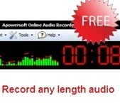 Apowersoft Free Online Audio Recorder – Record any audio online with one click | Tools for Teachers & Learners | Scoop.it