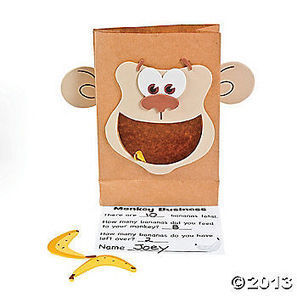 Monkey Marketplace Counting Craft Kit | Math Lesson Ideas | Scoop.it
