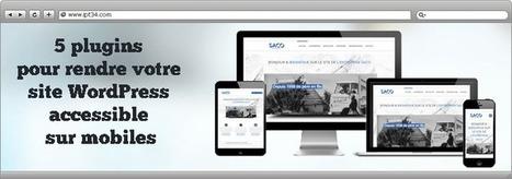 5 plugins pour afficher votre site sur mobile | Création de site internet Montpellier | Scoop.it