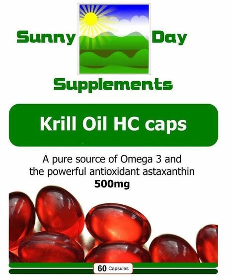 Krill Oil HC caps | Sunny Day Herbal Supplements, Buy Now & Jesus Saves | Scoop.it