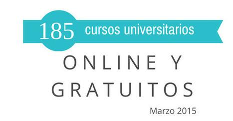 185 cursos universitarios, online y gratuitos que inician en marzo | Diseño Disseny | Scoop.it