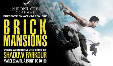 "Brick Mansions en avant premiere animée à Europacorp | Office de Tourisme ""Roissy Clé de France"" 