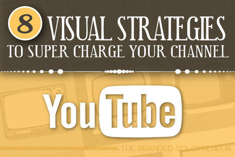 8 Visual Strategies To Super Charge Your YouTube Channel | My Blog 2015 | Scoop.it