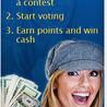 Vote and win cash
