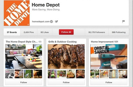 How the top 10 US retailers use Pinterest | Social Media Strategist | Scoop.it