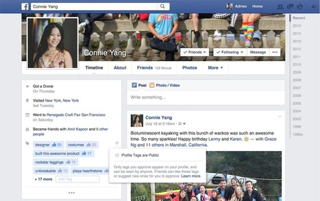 Facebook is testing new tags for your profile page [Update] | All Facebook | Scoop.it