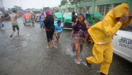 Le typhon Rammasun frappe les Philippines   Risques et Catastrophes naturelles dans le monde   Scoop.it