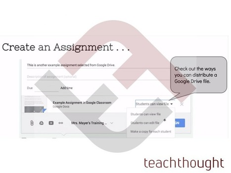How To Create An Assignment In Google Classroom - | Cool School Ideas | Scoop.it