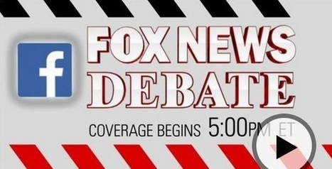 Facebook Teams Up With Fox News on Republican Presidential Debate | screen seriality | Scoop.it