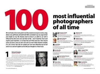 100 Most influential photographers of all time | Photographie | Scoop.it