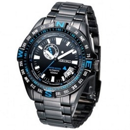 Seiko Automatic Round Black Sports Date WR 100m Mens Watch Model - SSA115J1 Price: Buy Seiko Automatic Round Black Sports Date WR 100m Mens Watch Model - SSA115J1 Online at Best Price in Australia ... | Direct Bargains Watch | Scoop.it