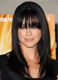 Trendy Long Straight Black Human Hair Wigs : fairywigs.com | African American Wigs | Scoop.it