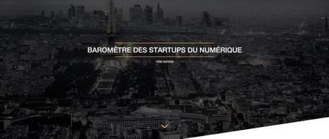 Baromètre des startups du numérique | Transformation digitale : marketing, communication, usages | Scoop.it