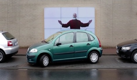 Installation of the Week: Fiat's Interactive Billboard Promotes Parking Assist Technology   digital signage   Scoop.it
