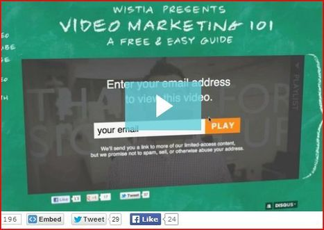9 Ways to Grow Your Email Audience With Video | MarketingHits | Scoop.it