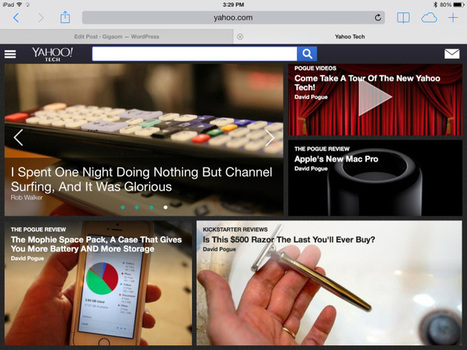 Yahoo to provide daily news curation using Summly | Content Curation Tools For Brands | Scoop.it