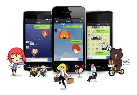 LINE, el todo en uno de mensajería que triunfa en Japón y empieza a establecerse en occidente | Recull diari | Scoop.it