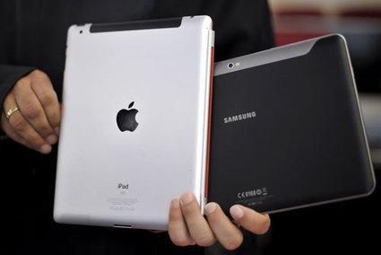 Samsung vs Apple : la tablette aux coins arrondis n'a pas été inventée par Apple | fixation du prix (mercatique) | Scoop.it