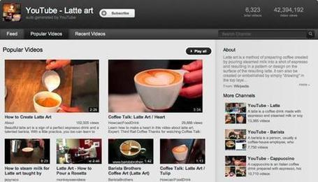 YouTube Auto-Curates In-Demand Topics with Auto-Generated Channels | iEduc | Scoop.it