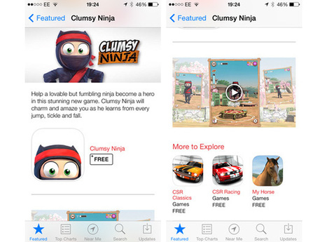 Apple posts its first video trailer on the iOS App Store - Engadget | Innovation | Scoop.it