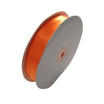 Satin Ribbon (25mm x 45metres) - Orange | Satin Ribbon | Scoop.it